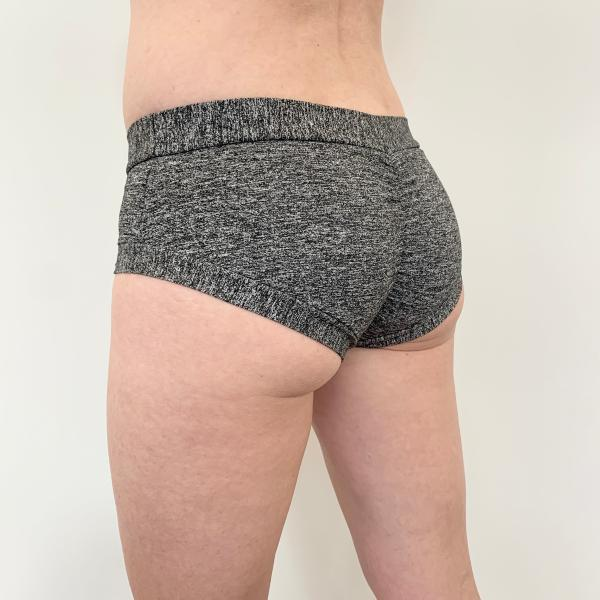 Basic Short Gris Chiné