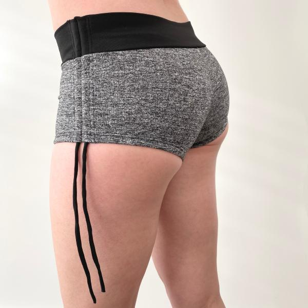 Side Short Gris Chiné